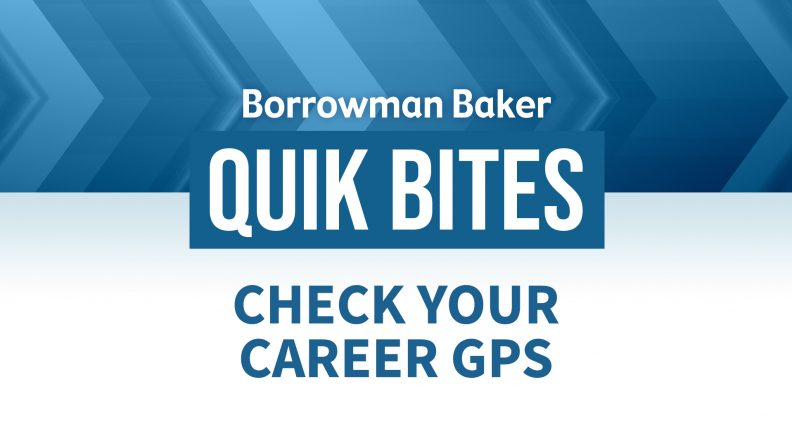 Check Your Career GPS